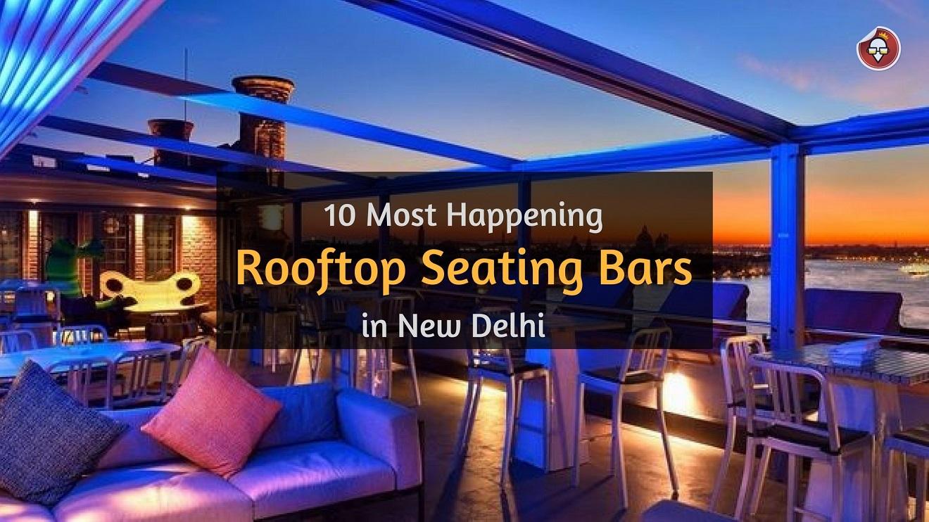 10 Most Happening Open Air Bars in New Delhi