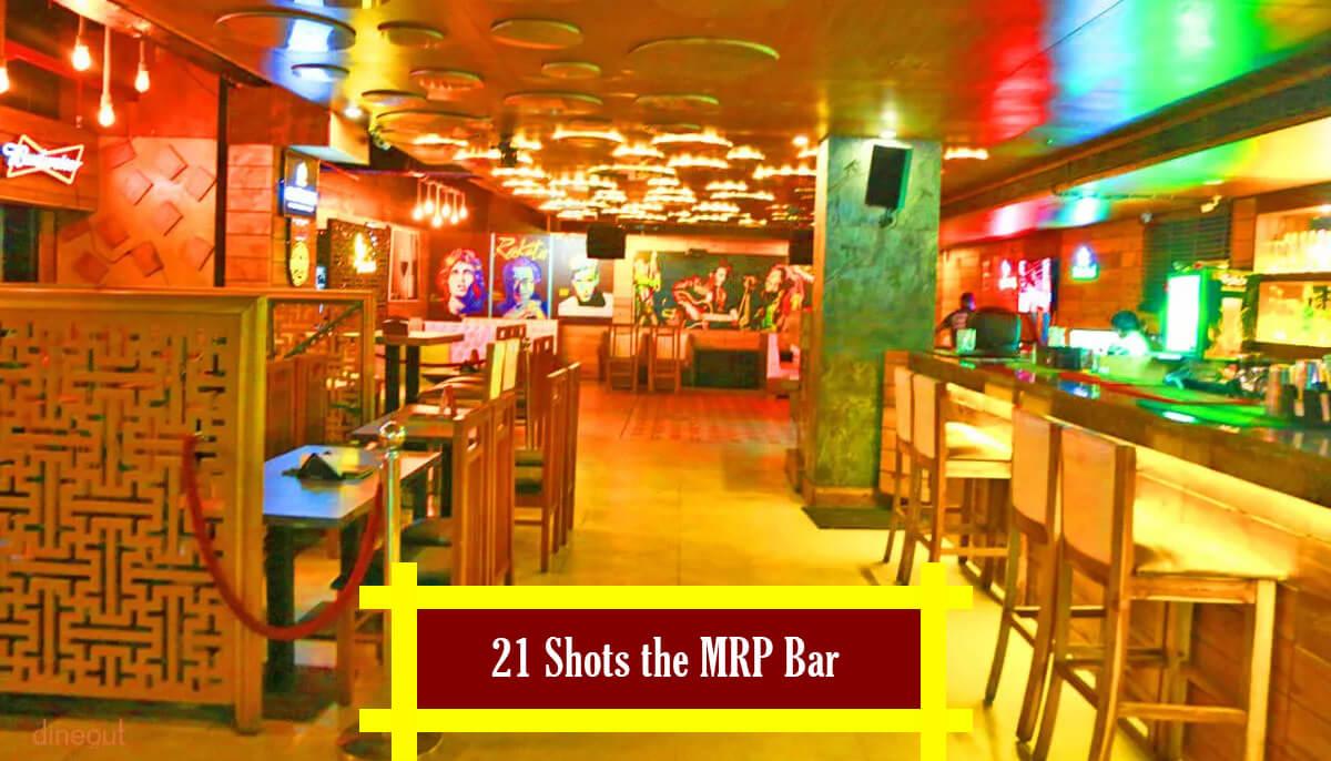 21 Shots the MRP Bar