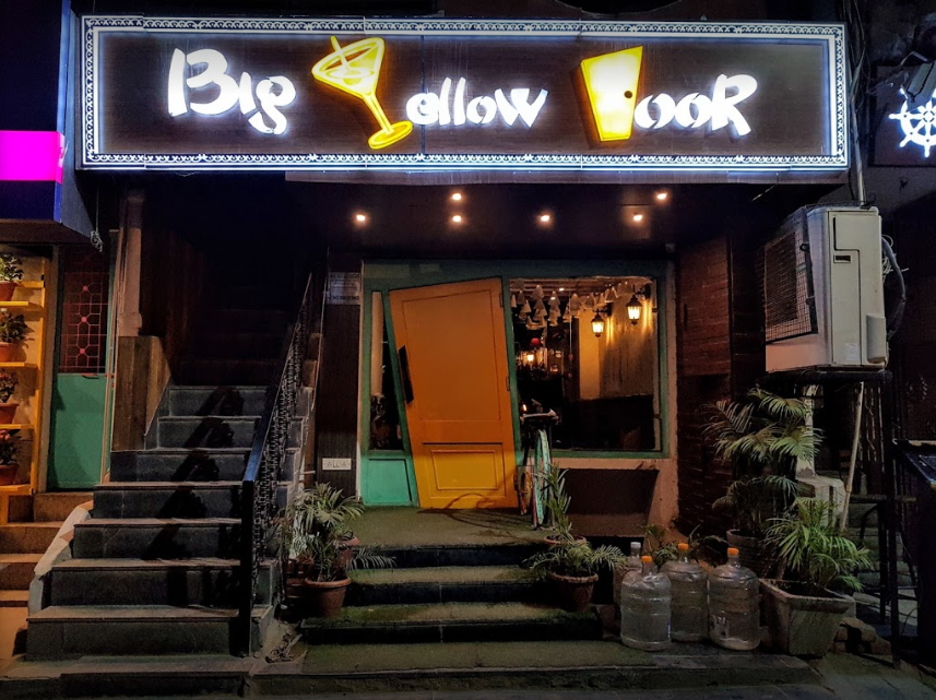 Big Yellow Door