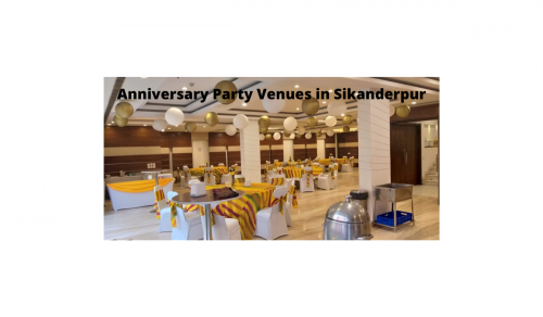 Anniversary Party Venues in Sikanderpur
