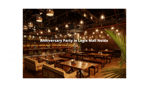 Anniversary Party in Logix Mall Noida