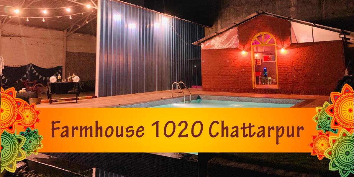 Farmhouse 1020 Chattarpur