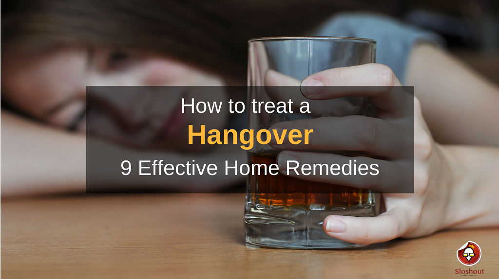 how to treat a hangover