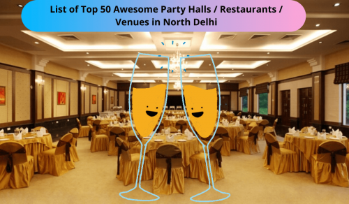 Party Halls in North Delhi