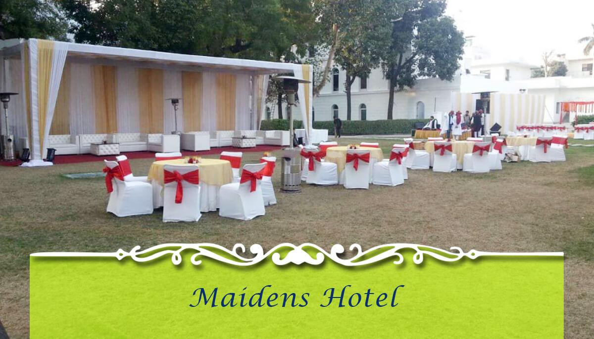 Maidens Hotel Wedding Venues in Delhi NCR