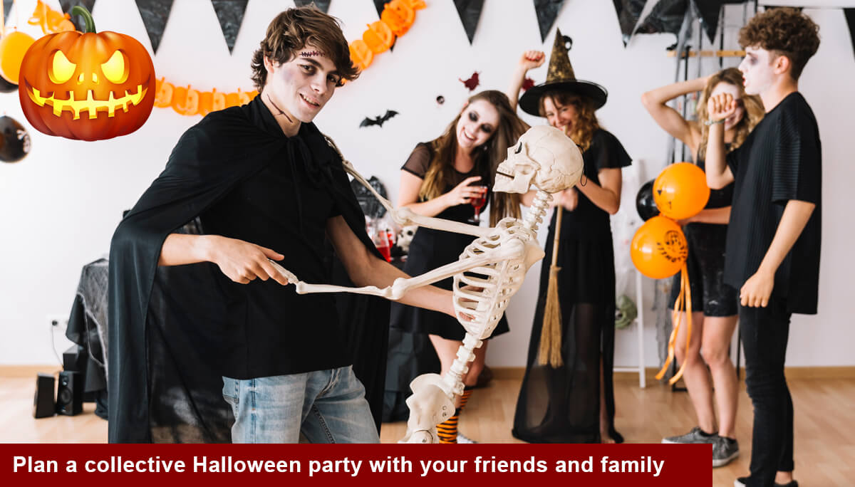 Halloween Party in Delhi