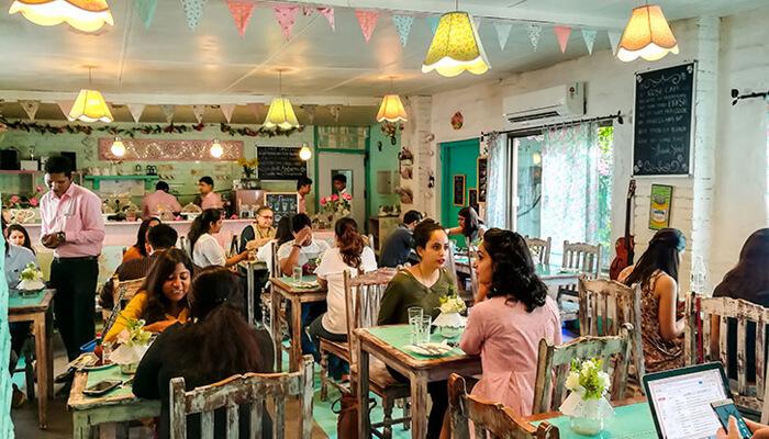 Rose Café, SaiyadUlAjaib, Saket