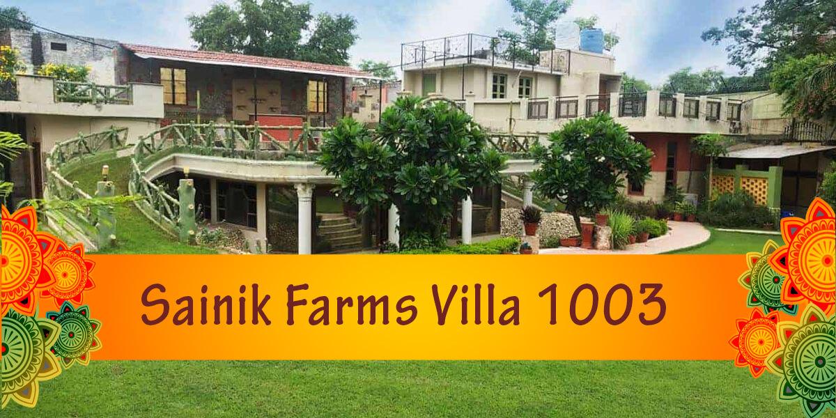 Sainik Farms Villa 1003