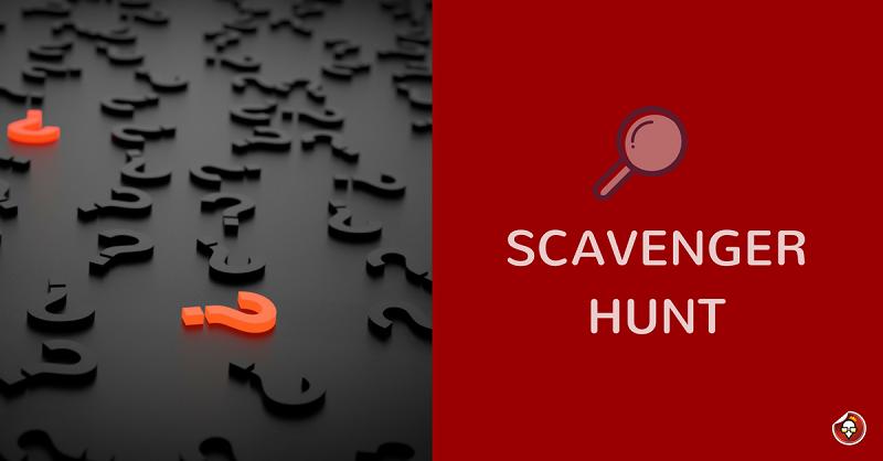 Scavenger Hunt Updated