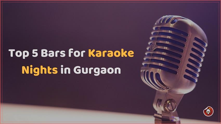 Top 5 Bars for Karaoke Nights in Gurgaon