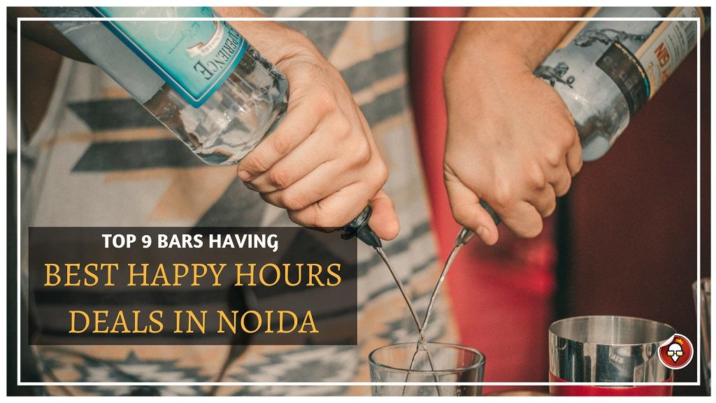 Top 9 Bars Having Best Happy Hours Deals In Noida