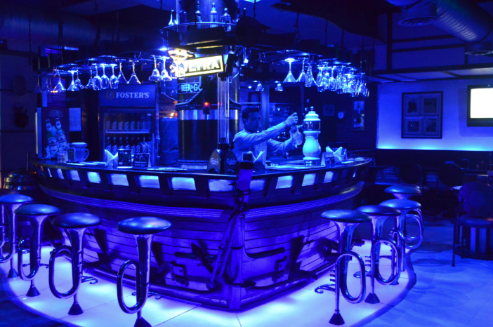 blue club and lounge a perfect corporate party place