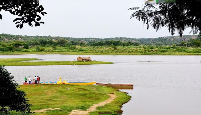Damdama Lake - Romantic Places in Delhi