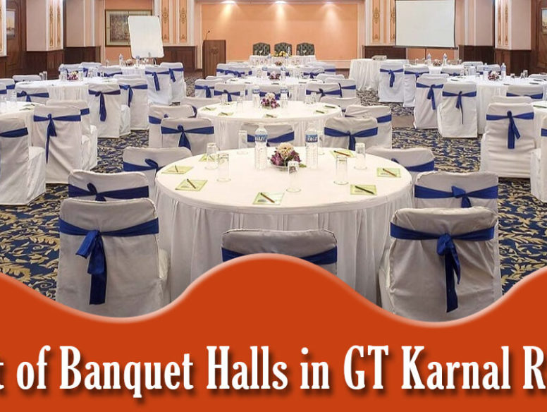 list of banquets hall in gt karnal road