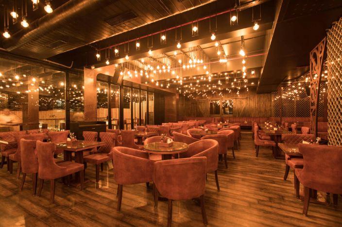 the flying saucer cafe gurgaon